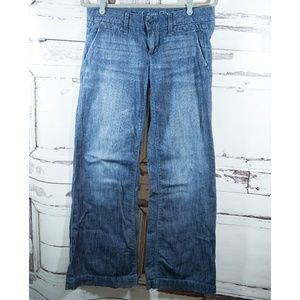 American Eagle Outfitters Sz 8 Regular Wide Jean